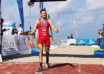 Camilo Puertas, subcampeón de Europa de duatlón cross