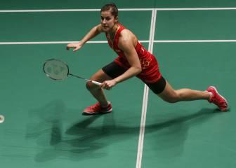 Carolina Marín, nombrada mejor jugadora europea por tercera vez