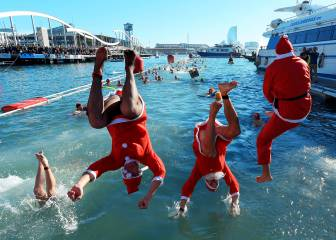 La Copa Nadal, el tradicional y divertido chapuzón en imágenes 1