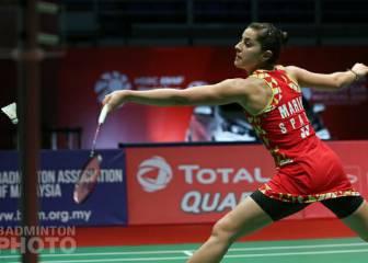 Carolina Marín alcanza los cuartos de final en Malasia 1