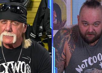 Hulk Hogan recibe un 'aviso' de Wyatt en su vuelta a SmackDown 1