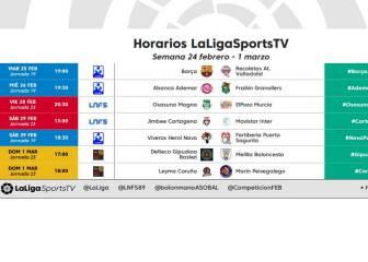 El líder de la LNFS en el programa del sábado de LaLigaSportsTV