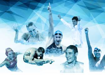 25 referentes en 100 años de natación 1