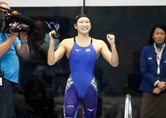 Rikako Ikee vuelve a competir tras derrotar a la leucemia