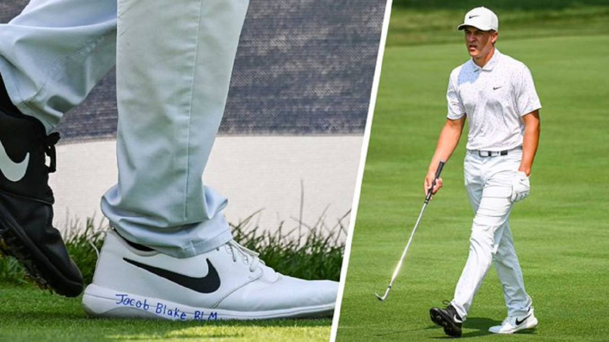 Champ-to-wear-black-and-white-sneakers-during-BMW-to-honor-Jacob-Blake