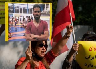 Irán ejecuta en la horca a Navid Afkari, campeón de lucha libre 1