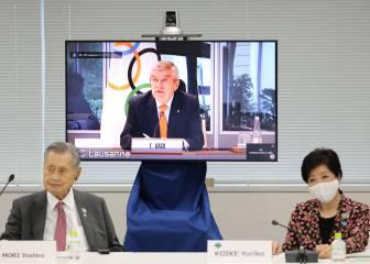 """Bach: """"Los avances en Japón muestran que podemos hacer eventos incluso sin la vacuna"""""""