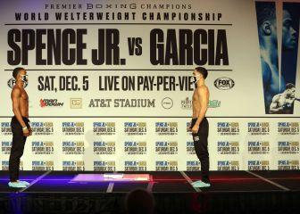 Sigue en directo los duelos previos al Spence vs García 1