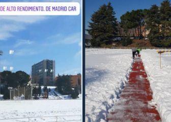 Críticas de atletas por la nieve que aún cubre la pista del CAR