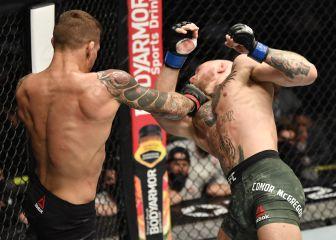 Poirier fue el diamante: noquea a McGregor en el UFC 257 1
