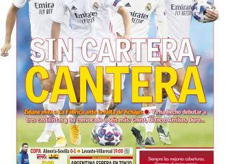 """Sin cartera, cantera""... las portadas deportivas de hoy 1"