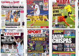 """""""Florentino, fíchalo""""... las portadas deportivas de hoy 1"""