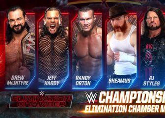 Elimination Chamber por el Campeonato de la WWE 1