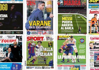 """""""Varane en el escaparate""""... las portadas deportivas de hoy"""