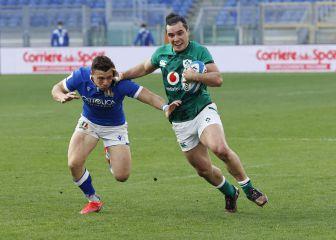 Rugby | Irlanda firma su primera victoria tras aplastar a Italia 1