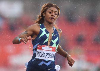 Sha'Carri Richardson podría perderse los Juegos tras dar positivo en cannabis
