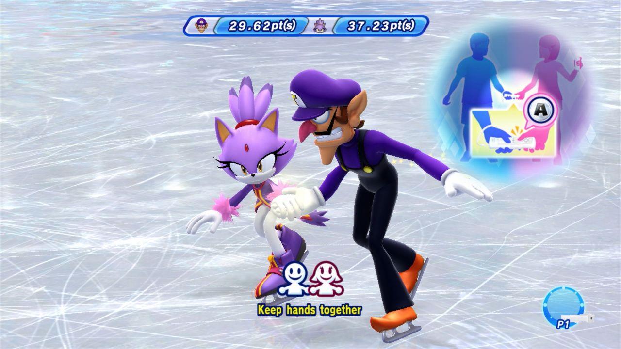 Imagenes De Mario Sonic En Los Juegos Olimpicos De Invierno