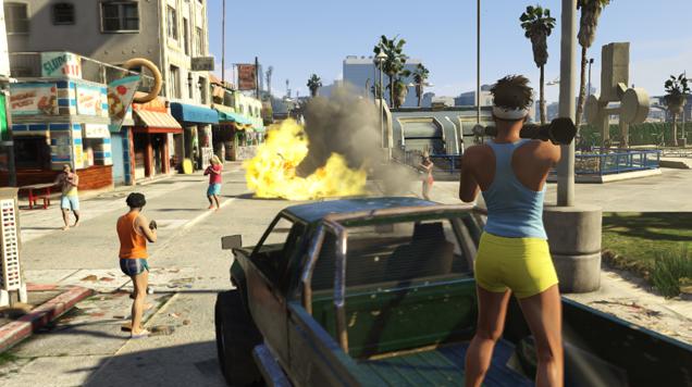 Imagenes De Grand Theft Auto Online Meristation