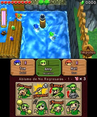 Imagenes De The Legend Of Zelda Tri Force Heroes Meristation