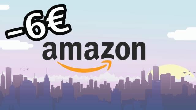 Descuento 6 Euros Amazon