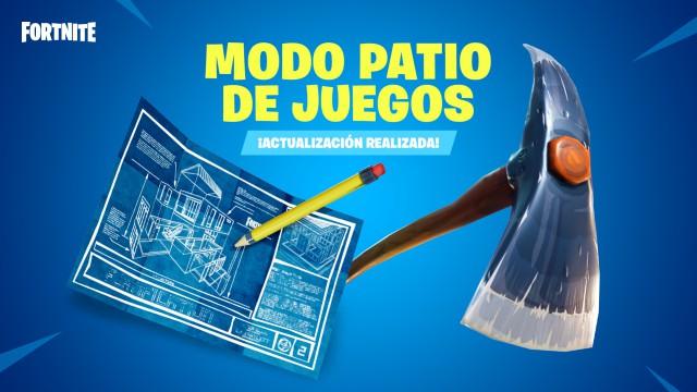 Vuelve El Modo Patio De Juegos A Fortnite Battle Royale Meristation