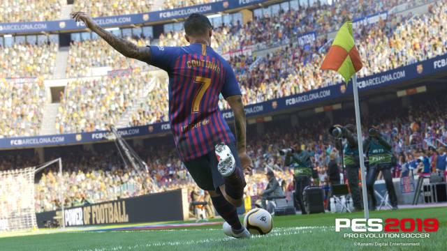 PES 2019 desvela la tercera equipación del FC Barcelona en un tráiler 92dd50ba4d109