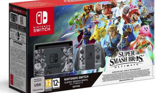 Resultados Gana Una Nintendo Switch Super Smash Bros Ultimate