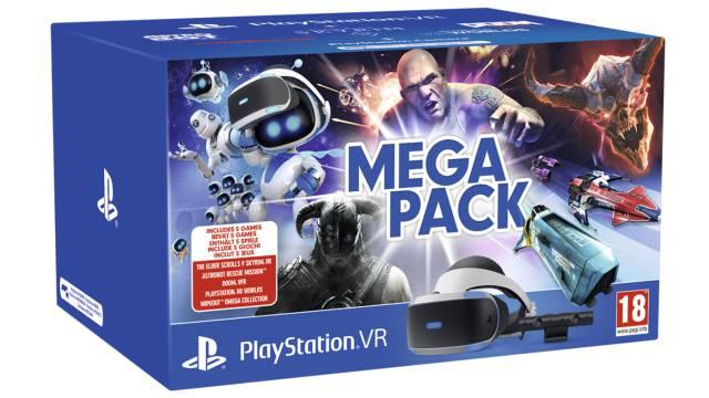Nuevo Mega Pack De Playstation Vr Con Cinco Juegos Por 329 99 Euros