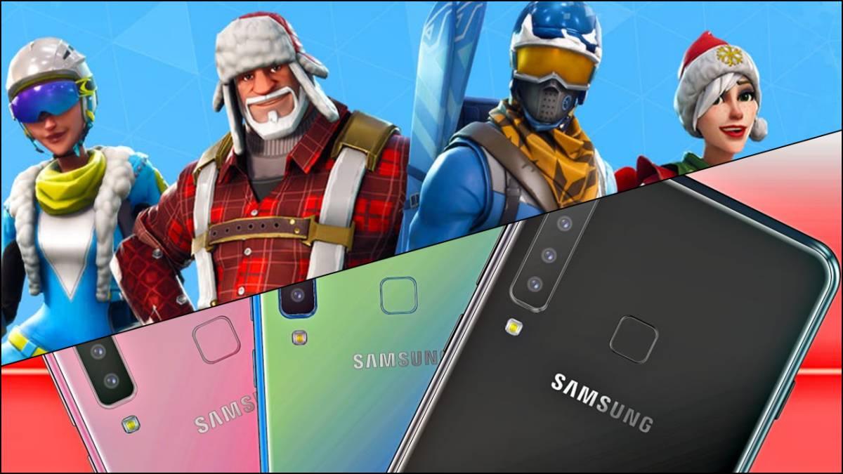 fortnite battle royale - celulares compatibles con fortnite