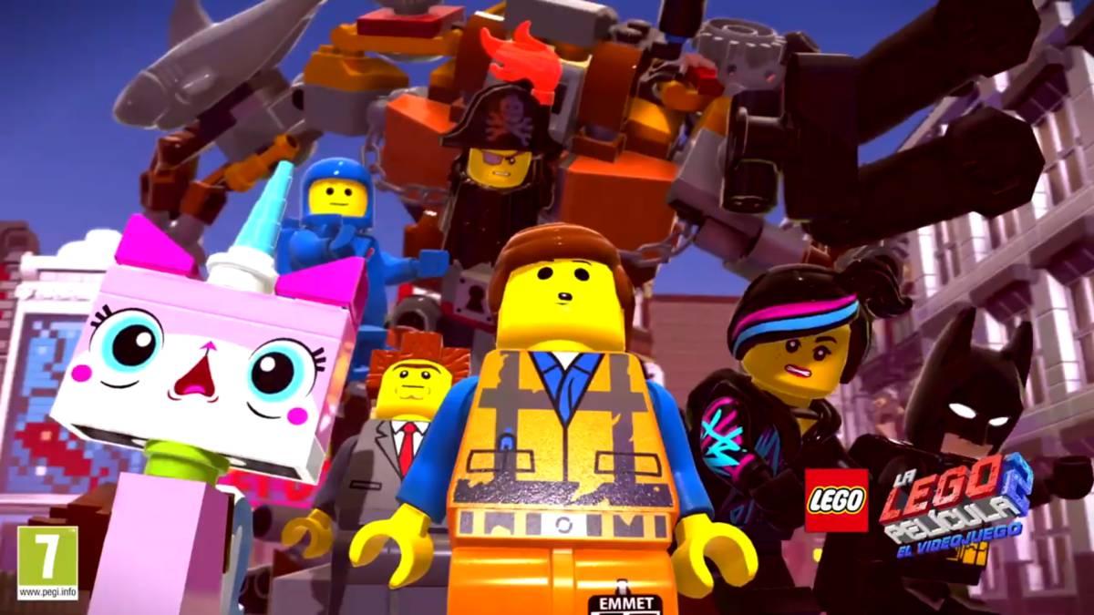 Resultado de imagen de la lego película 2: el videojuego