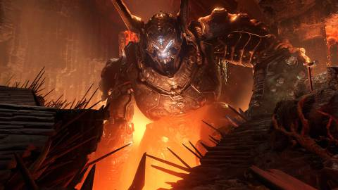 Doom Eternal se deja las tripas en su impresionante tráiler de lanzamiento