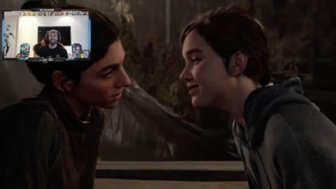La viral reacción del Kun Agüero cuando vio el beso lésbico de 'The Last of Us: Parte II'