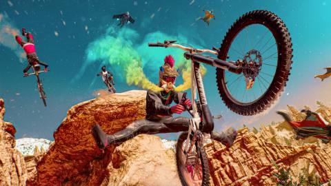 Riders Republic, un nuevo MMO para practicar deportes extremos con hasta 50 personas