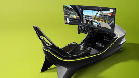 Así es el simulador para juegos de carreras de Aston Martin valorado en 62.000 euros
