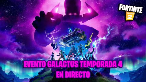 Así ha sido el Evento Galactus de Fortnite, final de la Temporada 4