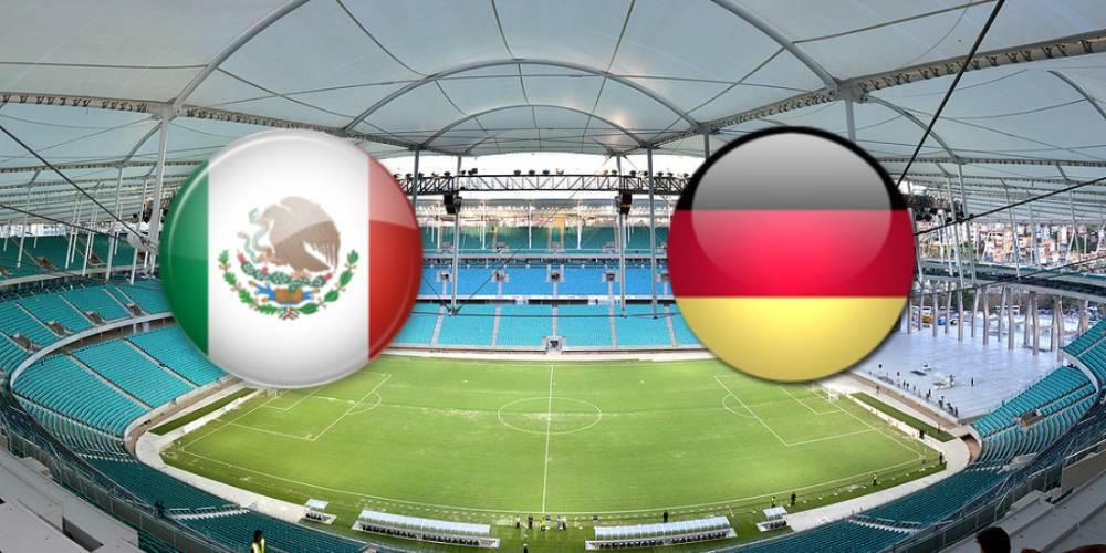 México 2-2 Alemania  Resumen del partido y goles 9a64cbb19d753