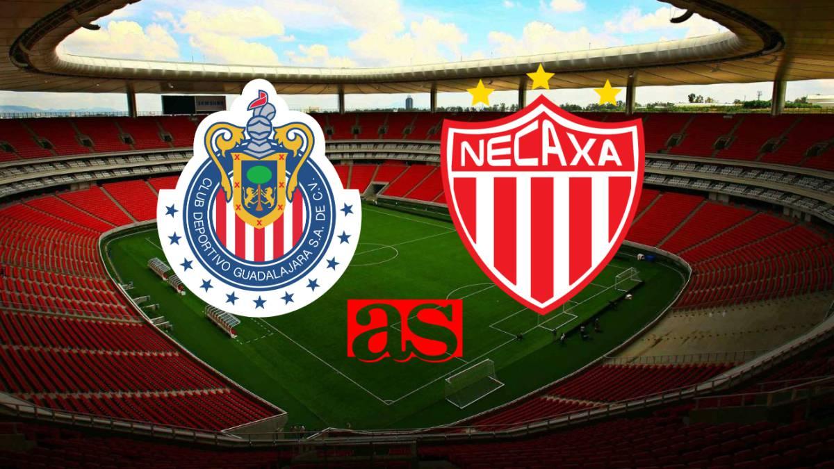 Chivas vs Necaxa (1-1)  Resumen del partido y goles. Guadalajara 9a7ad846163