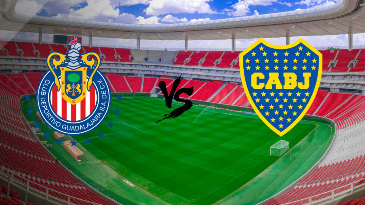 Kết quả hình ảnh cho Guadalajara Chivas vs Boca Juniors