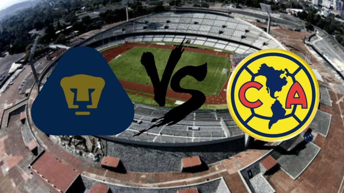 Resultado de imagen para Pumas UNAM vs Club América