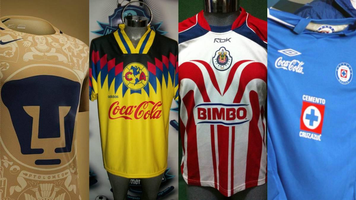 camisetas futbol retro
