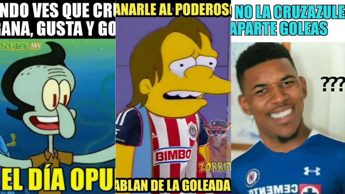 Chivas y Cruz Azul ganan en la cancha, pierden en los ...