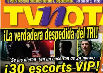 Escándalo en México: fiesta con 30 mujeres antes de ir a Rusia