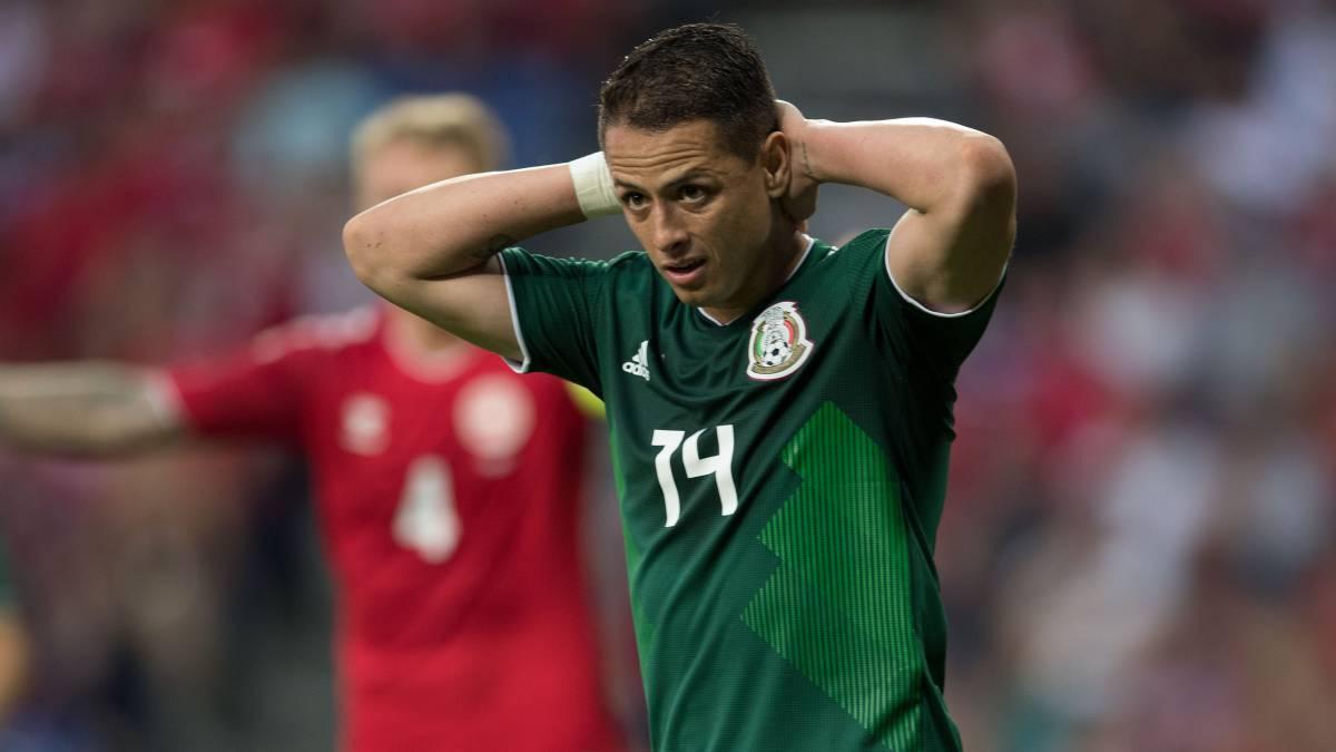 Dinamarca – México (2-0)  Resumen del partido y goles - AS México 27d7de9aed413