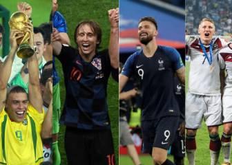 Croacia y las 12 selecciones que han llegado a una final mundialista