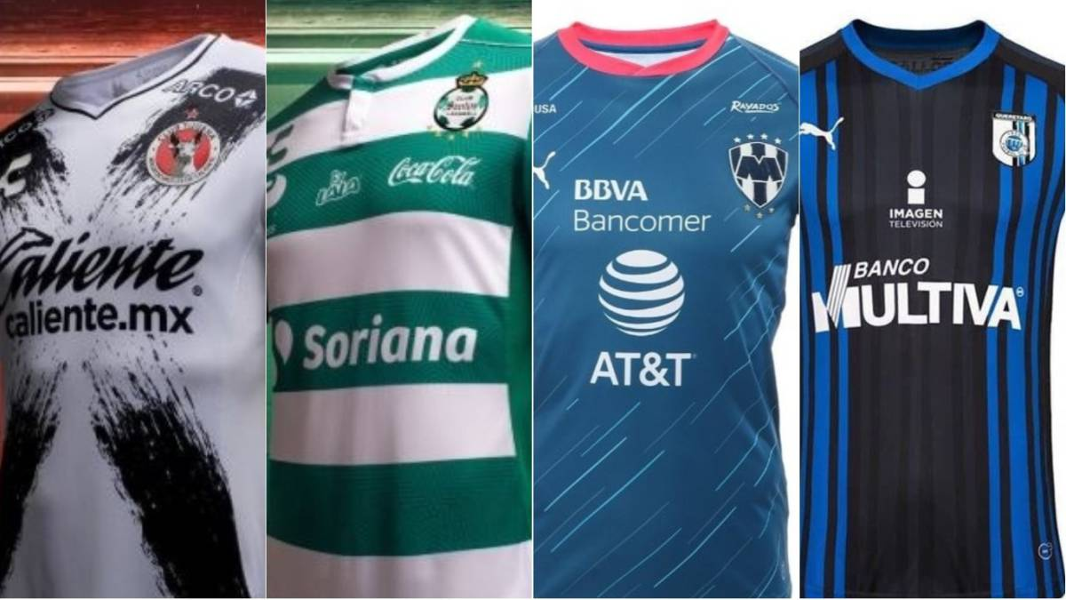 da20e2ee9975e Las playeras oficiales de Liga MX para el Apertura 2018 - AS México
