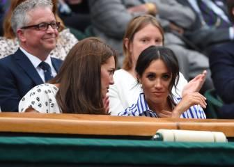 Markle y Middleton asisten a final femenil de Wimbledon
