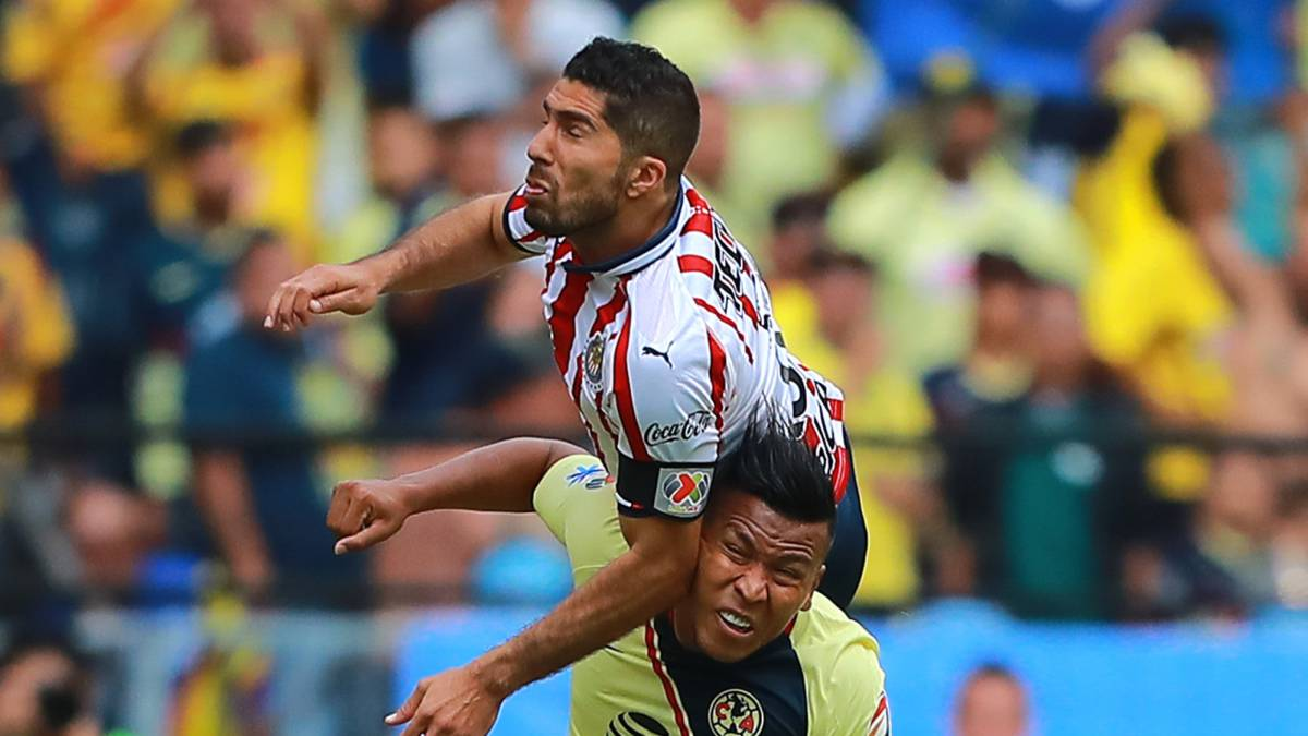 9b228538baf82 América - Chivas (1-1)  Resumen del partido y goles - AS México