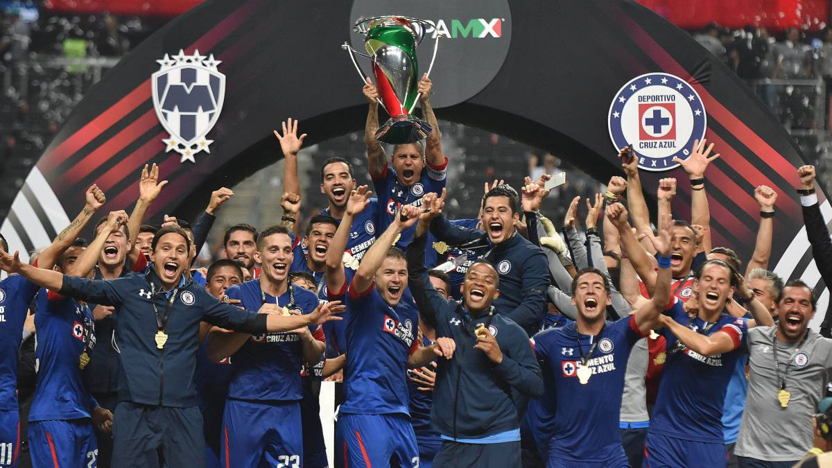 Cruz Azul es campeón de la Copa MX tras vencer al Monterrey - AS México 2f8c2f760c75f