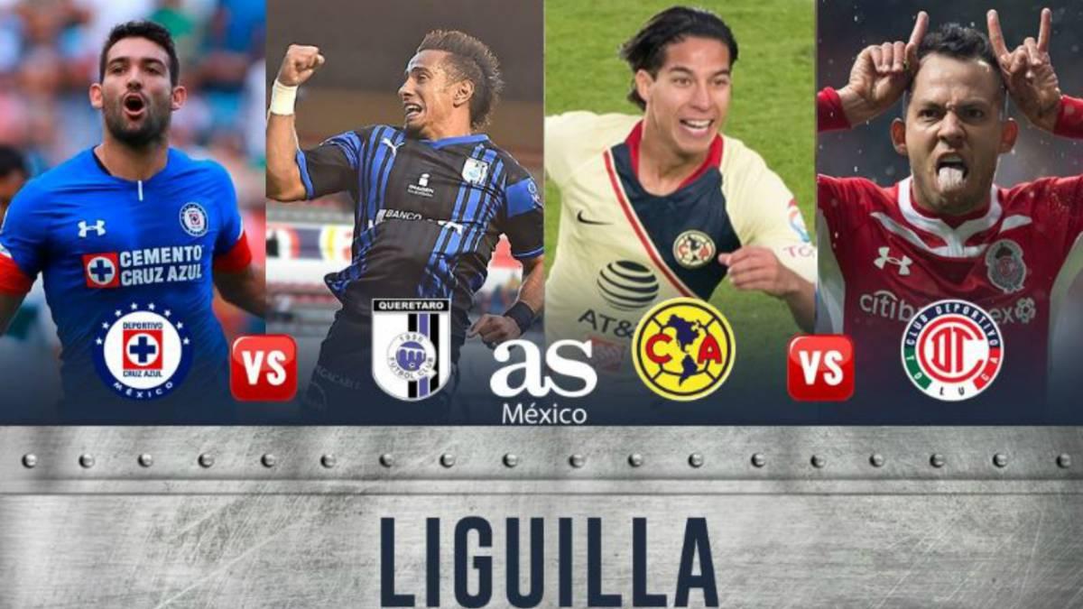 Así quedó la Liguilla del Apertura 2018 de la Liga MX - AS México ebd19408df252
