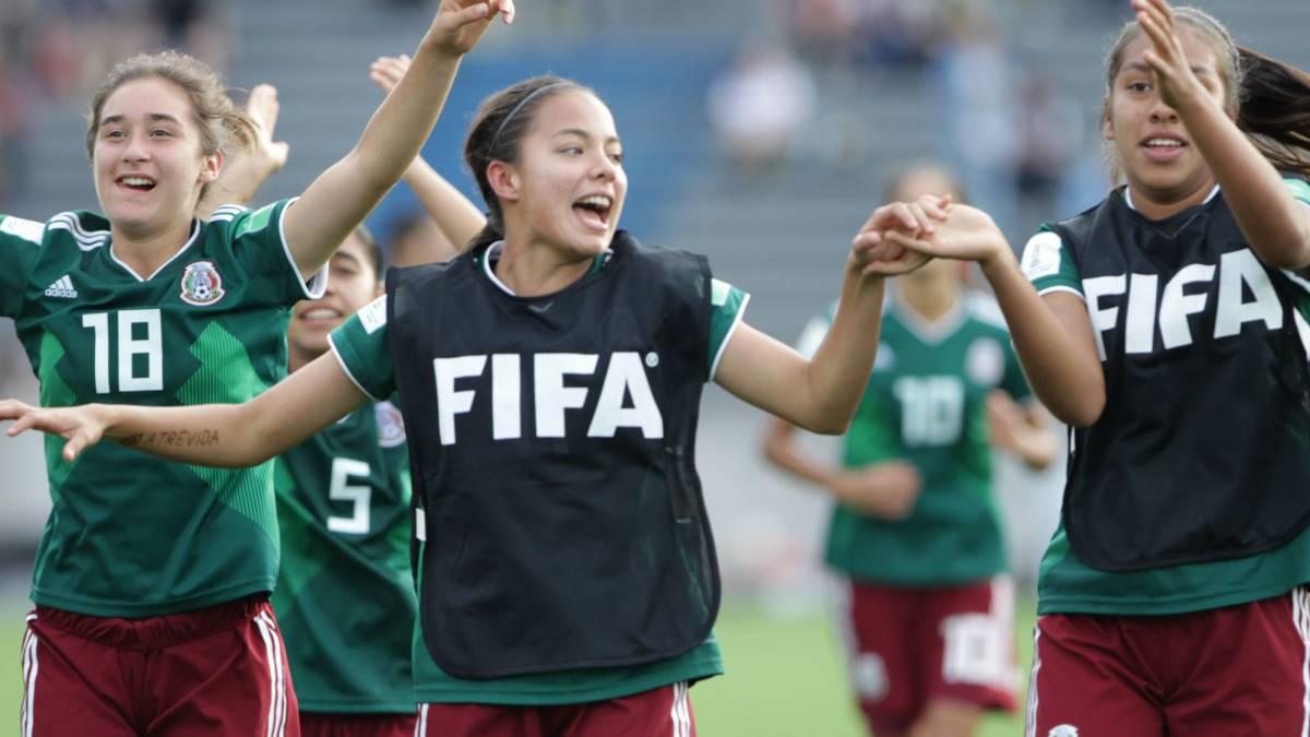 México – España Mundial Sub-17 Femenil 258ef56cd39dc